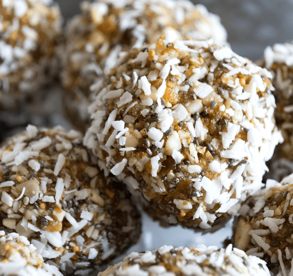 © Hey, Heather Angel | Fig & Nut Energy Balls