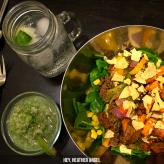 © Hey, Heather Angel | Garlic & Lime Tomatillo Salsa