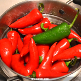 Don't forget to rinse ya' peppers!