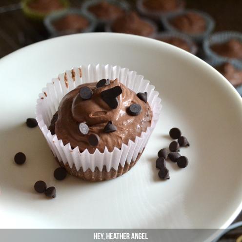 Paleo Chocolate Cupcakes | Hey, Heather Angel