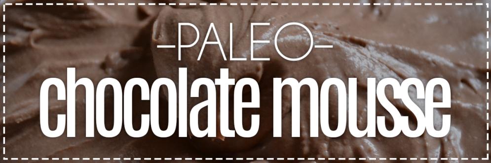 Paleo Chocolate Mousse | Hey, Heather Angel