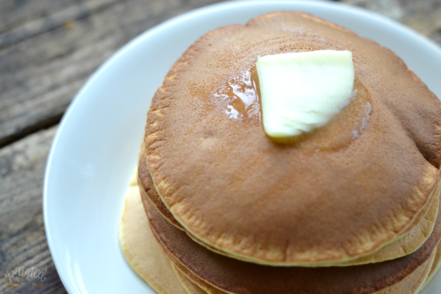 The Perfect Grain-Free Pancakes by Painted Fork (paleo, gluten free)